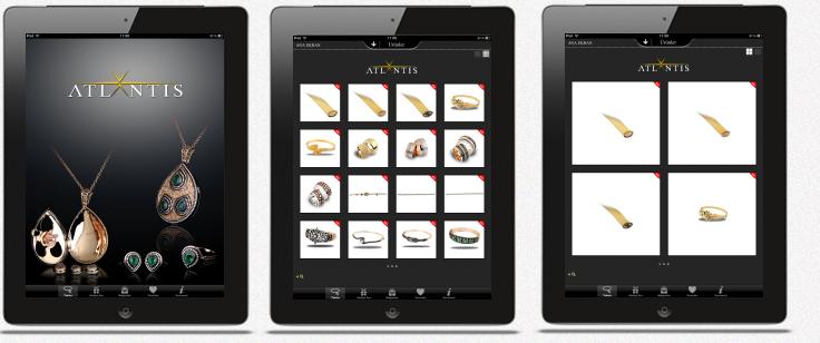 ATLANTIS Mücevher iPad Uygulaması