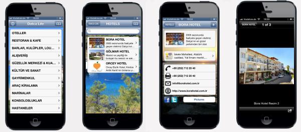 Datca Life iPhone Uygulaması