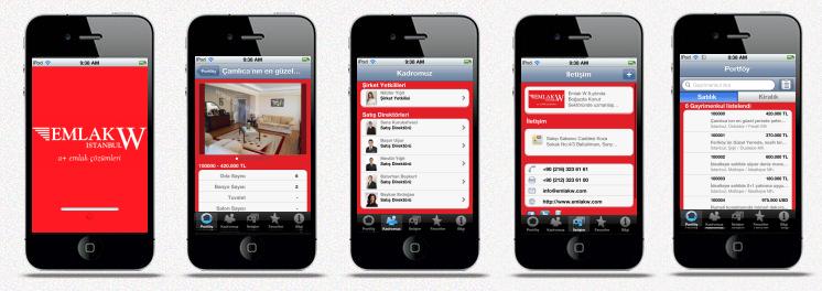 EMLAK W iPhone Emlak Uygulaması