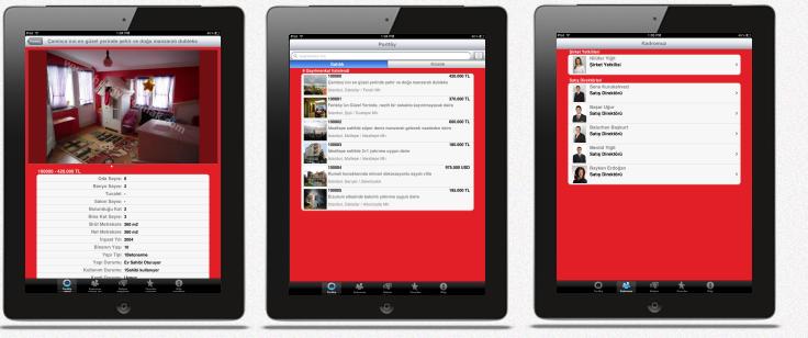 EMLAK W iPad Emlak Uygulaması