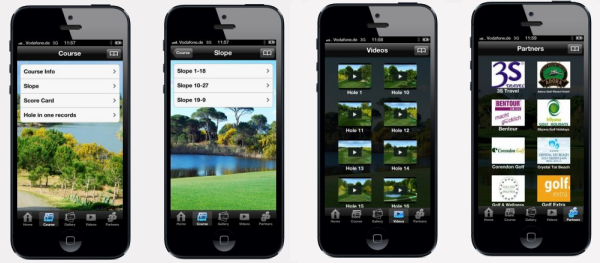 TAT Golf iPhone Uygulaması